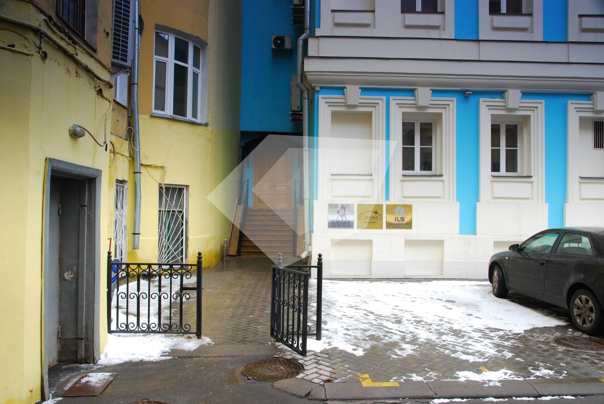 Помещение для фирмы Знаменский Малый переулок Аренда офиса 40 кв Самокатная улица