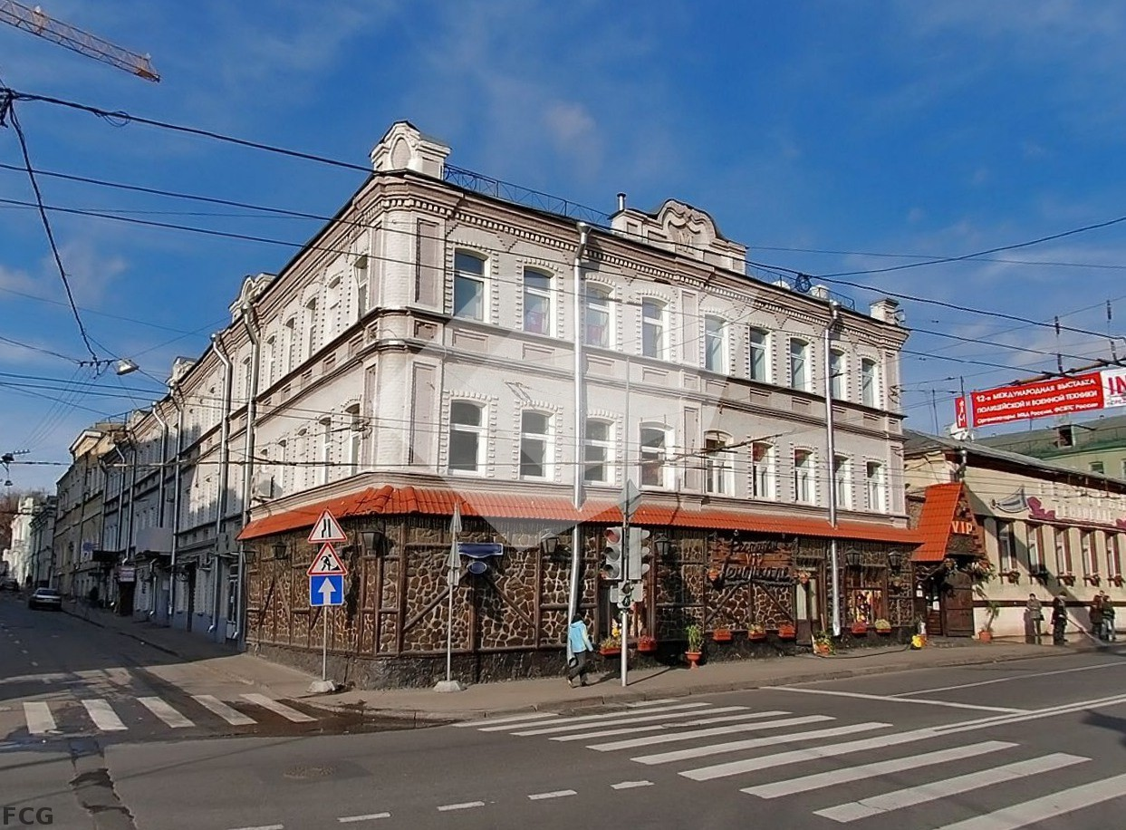 Офисные помещения Остоженка улица продажа коммерческой недвижимости гороховец