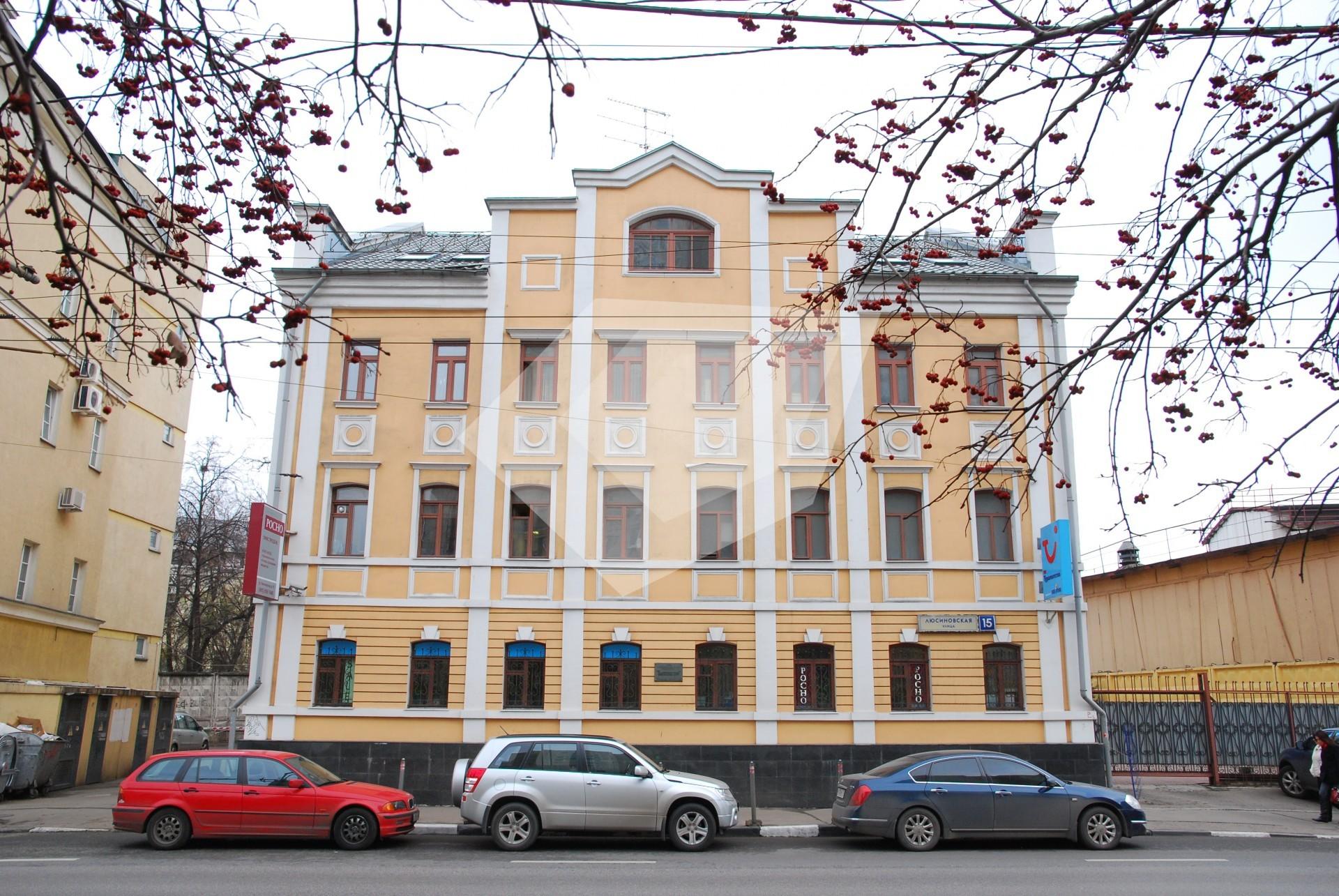 Офисные помещения Люсиновская улица аренда коммерческой недвижимости Амундсена улица