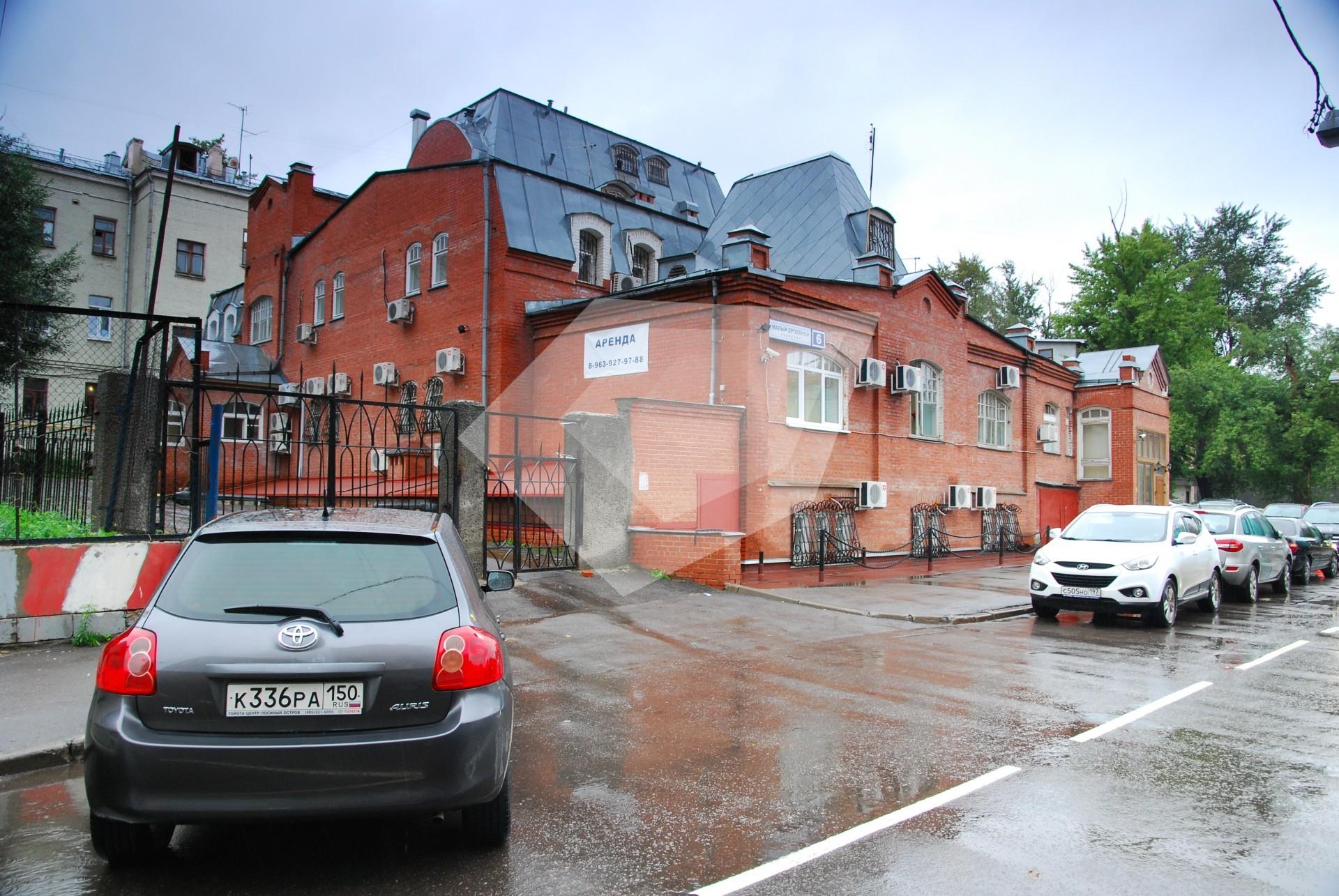 Аренда офисов метро таганская 100м2 Аренда офиса 40 кв Старопименовский переулок