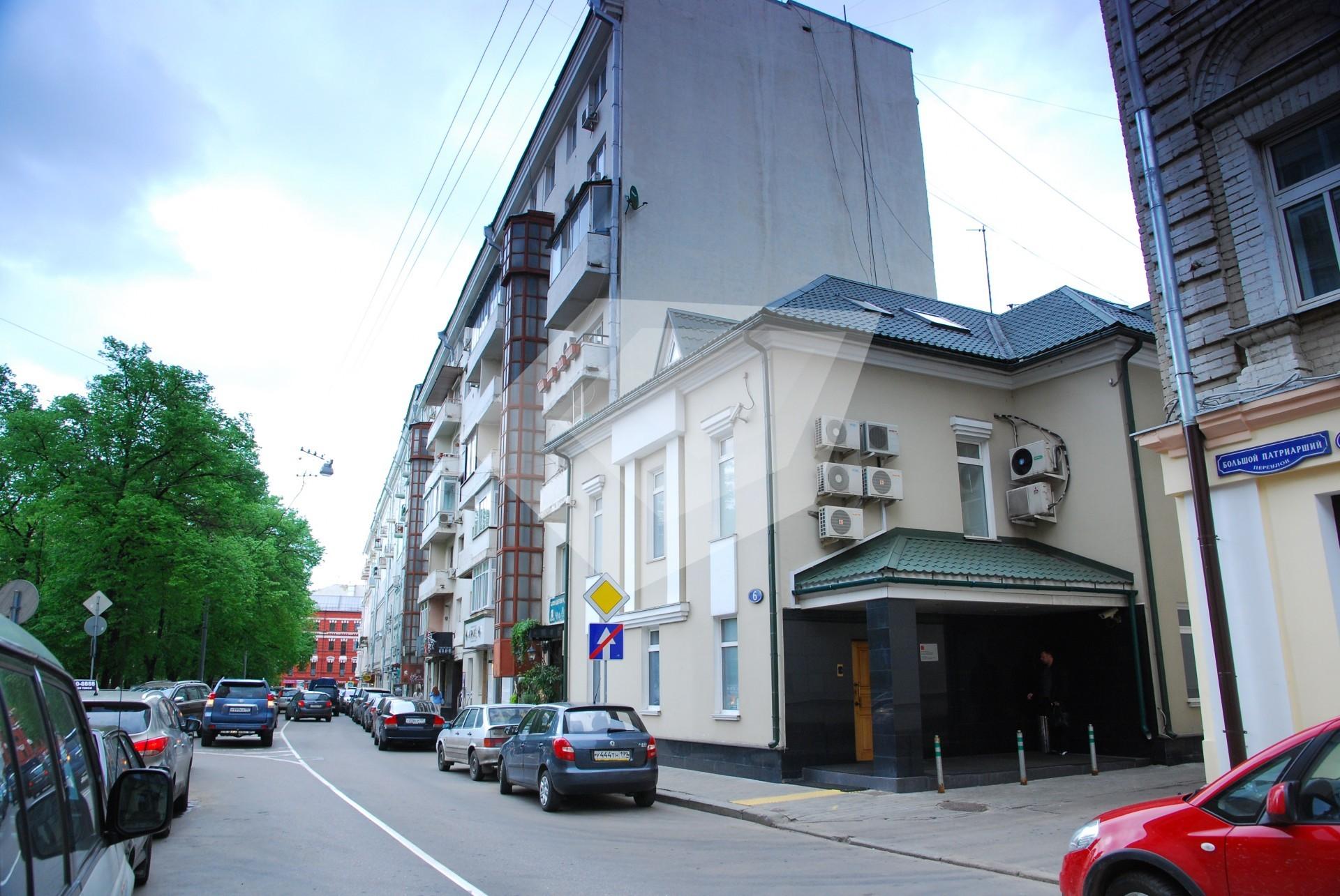 Помещение для фирмы Патриарший Большой переулок Аренда офиса 20 кв Михалковская улица