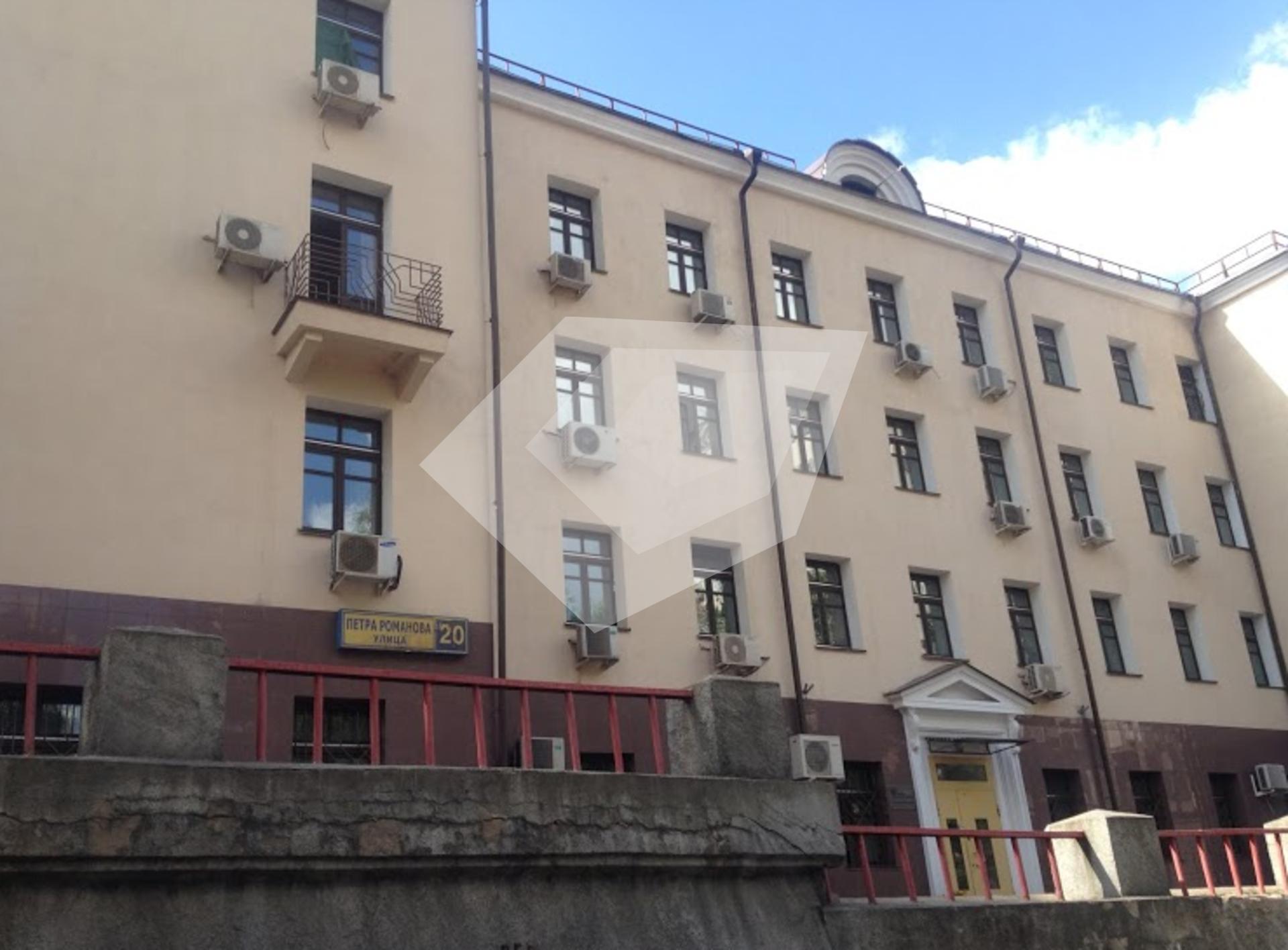 Арендовать офис Петра Романова улица Арендовать помещение под офис Саперный проезд